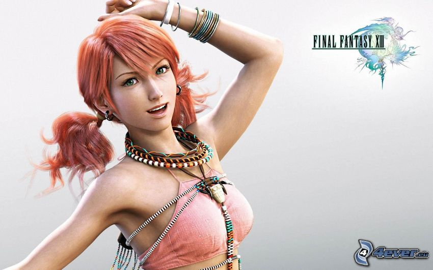 Final Fantasy XIII, ragazza fantasy