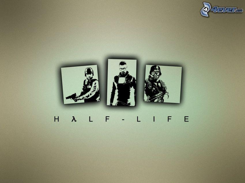 Half-life, immagini
