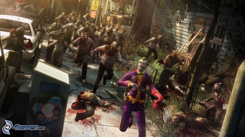 Joker, zombies