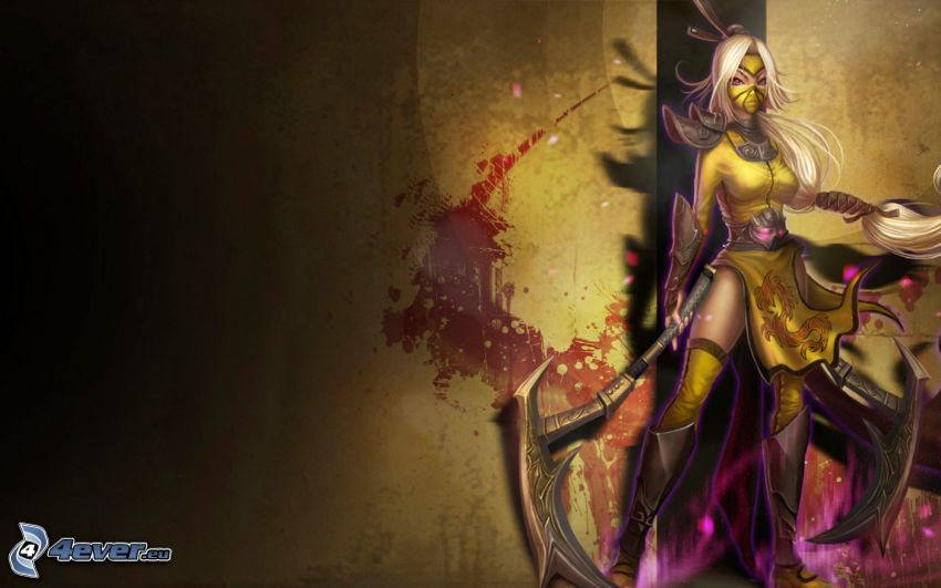 League of Legends, fantasy guerriera