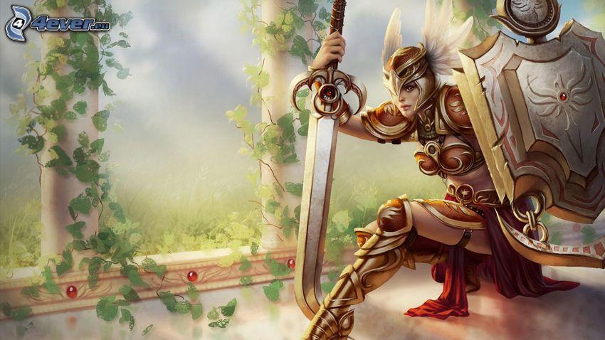 League of Legends, guerriero fantasy