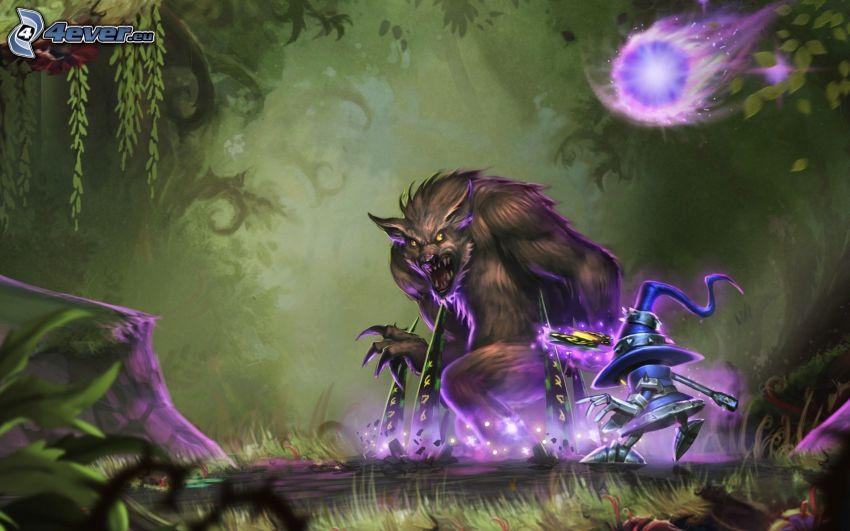 League of Legends, licantropo, mostro