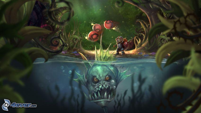 League of Legends, pesci predatore