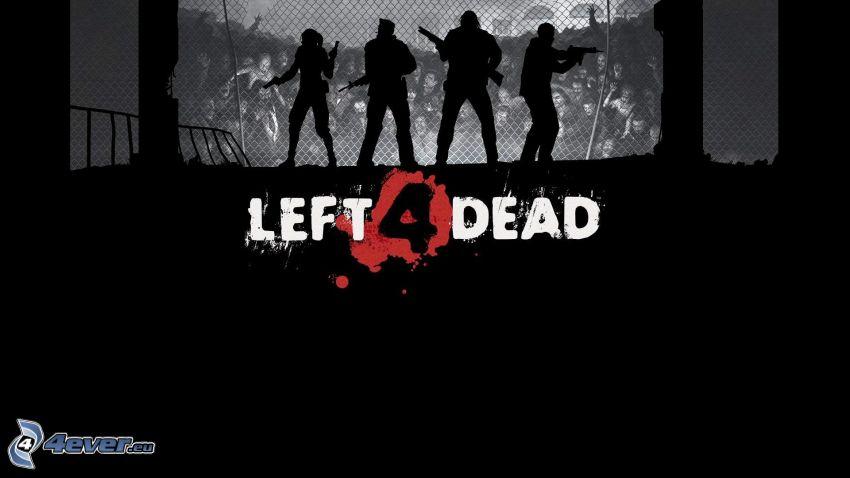 Left 4 Dead, sagome di persone
