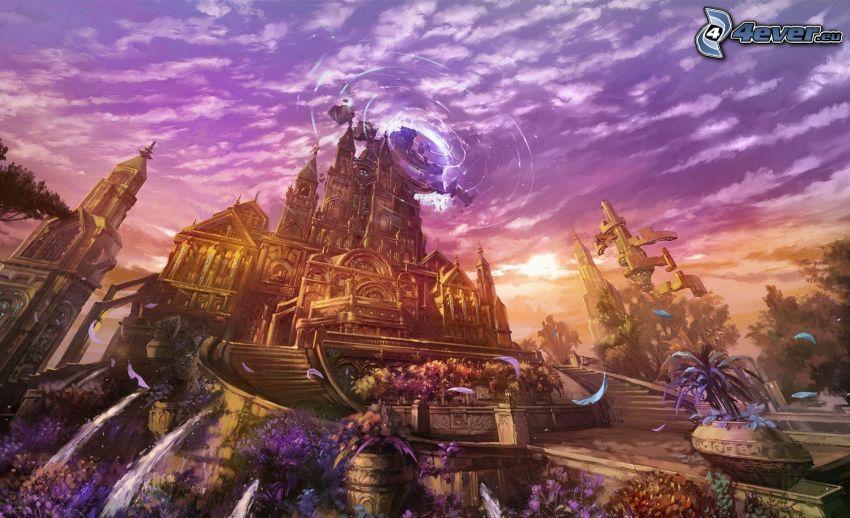 Lineage 2, castello fantasy