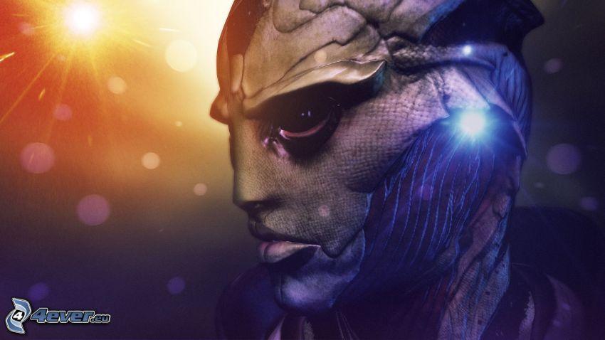 Mass Effect, luci, alieno