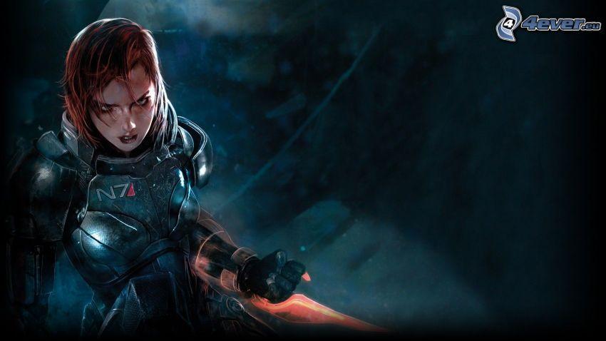 Mass Effect 3, guerriera
