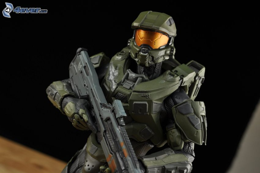 Master Chief - Halo 4, armatura