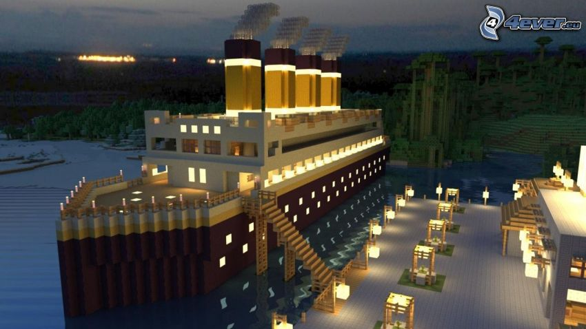 Minecraft, Titanic