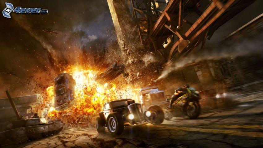 MotorStorm: Apocalypse, esplosione, Hot Rod