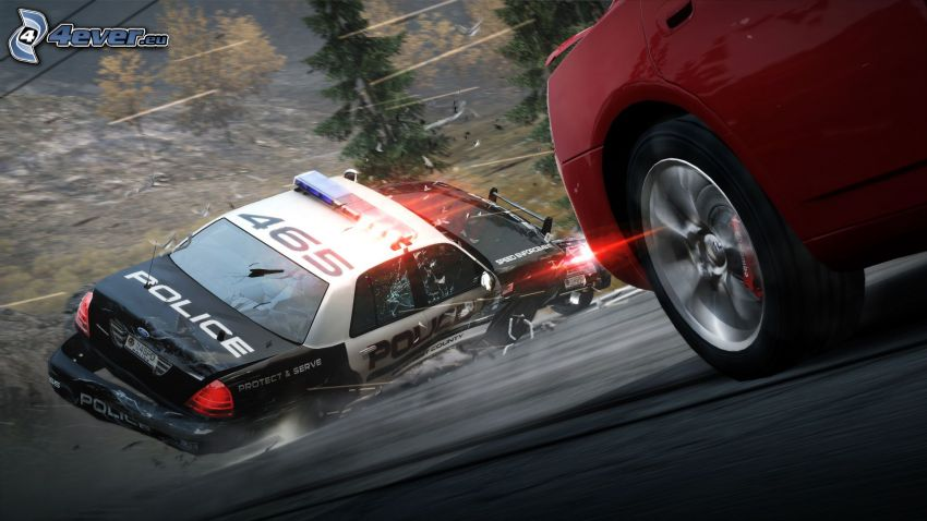 Need For Speed: The Run, auto della polizia