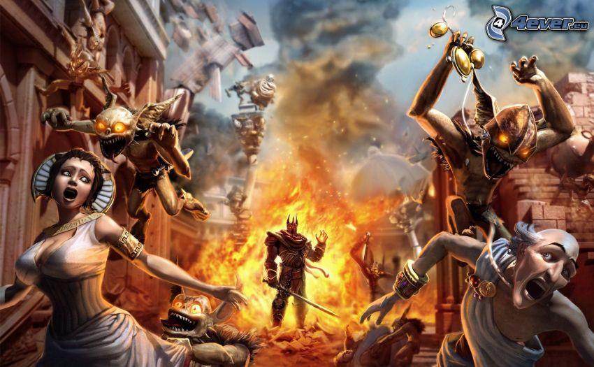 Overlord 2, esplosione