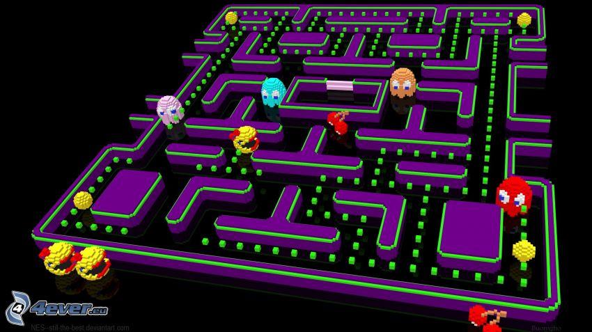 Pacman, labirinto