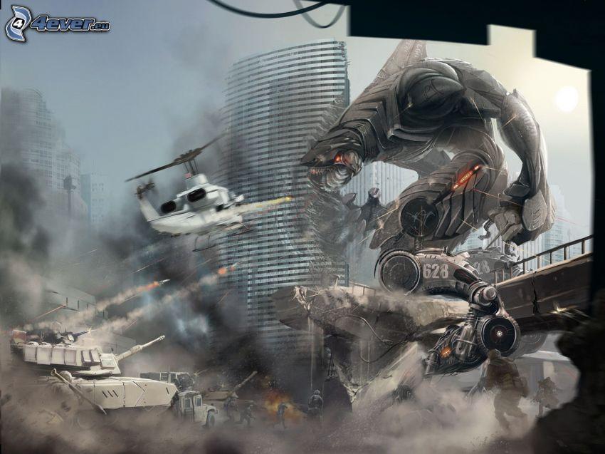 PC gioco, guerra, sci-fi