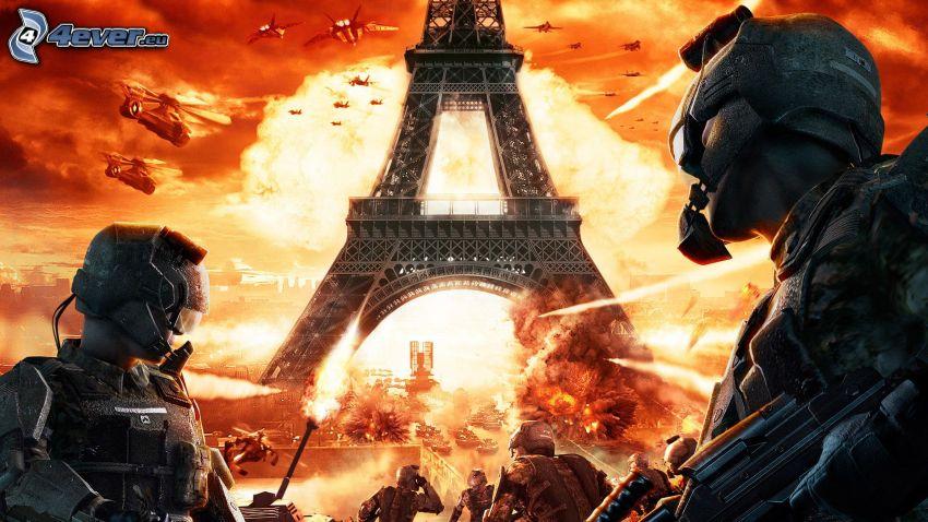 PC gioco, Torre Eiffel