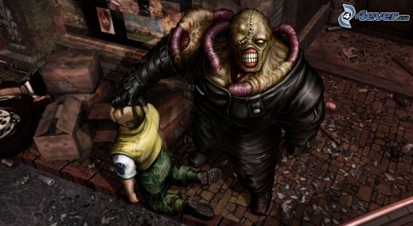 Resident Evil, mostro, uomo