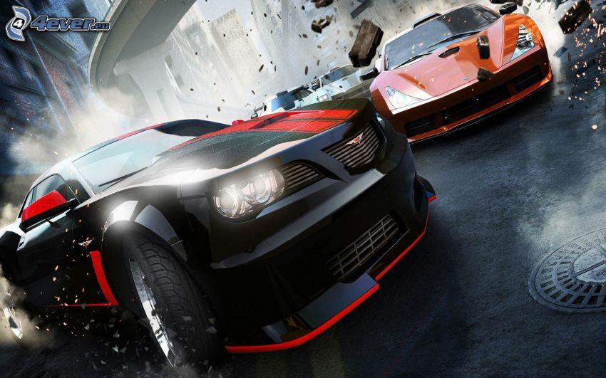 Ridge Racer 7 CG, auto sportive