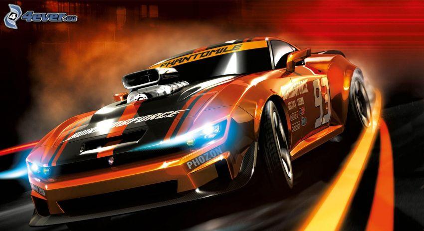 Ridge Racer 7 CG, Big Block, auto da corsa