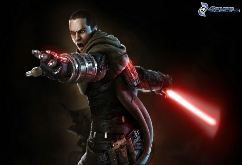 Star Wars, spada laser