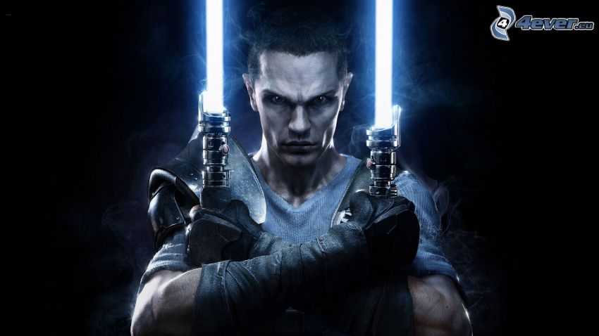 Star Wars: The Force Unleashed 2, spada laser