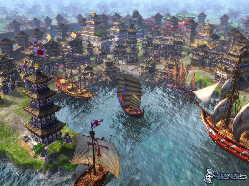 Age of Empires 3, The Asian Dynasties