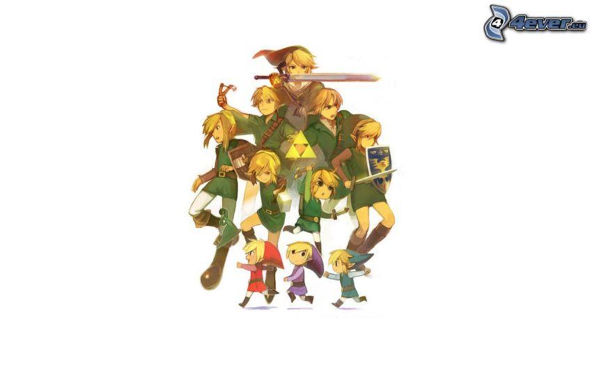 The Legend of Zelda, elfi