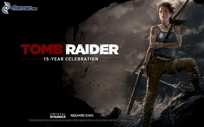 Tomb Raider, guerriera, arciere