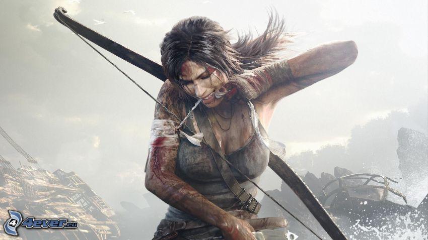 Tomb Raider: Underworld, guerriera, arciere