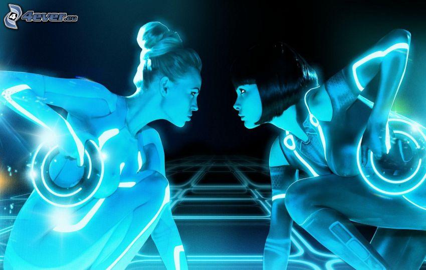 Tron: Legacy, donne