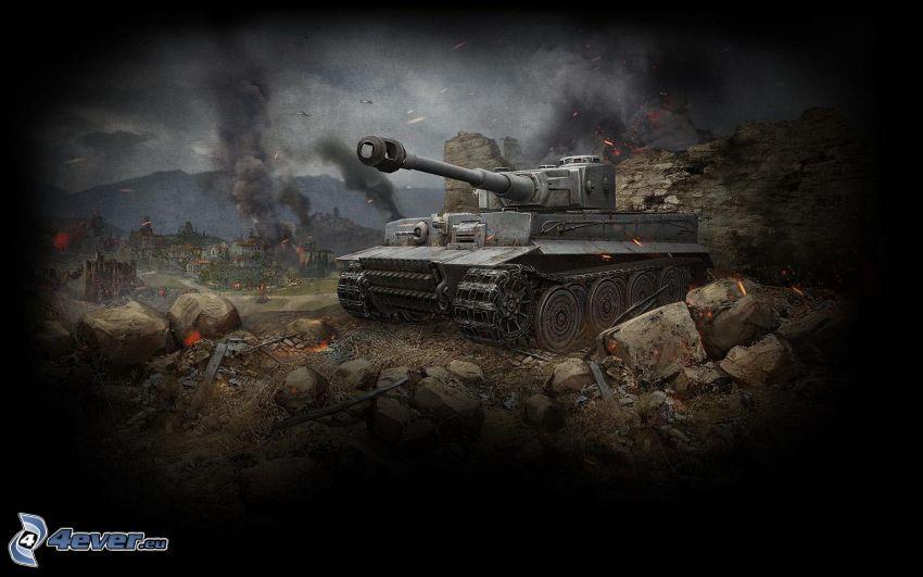 World of Tanks, Tiger, Wehrmacht