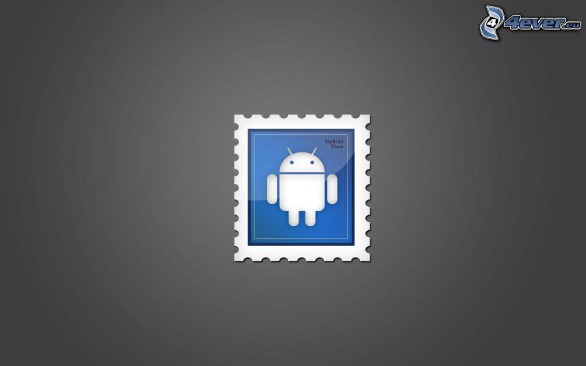 Android, francobollo