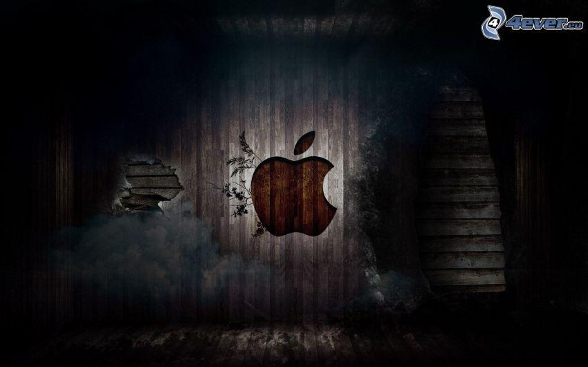 Apple, legno