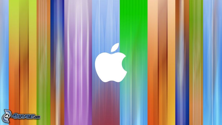 Apple, strisce colorate