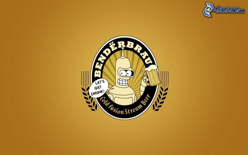 Futurama, birra