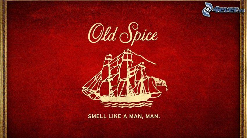Old Spice, barca a vela