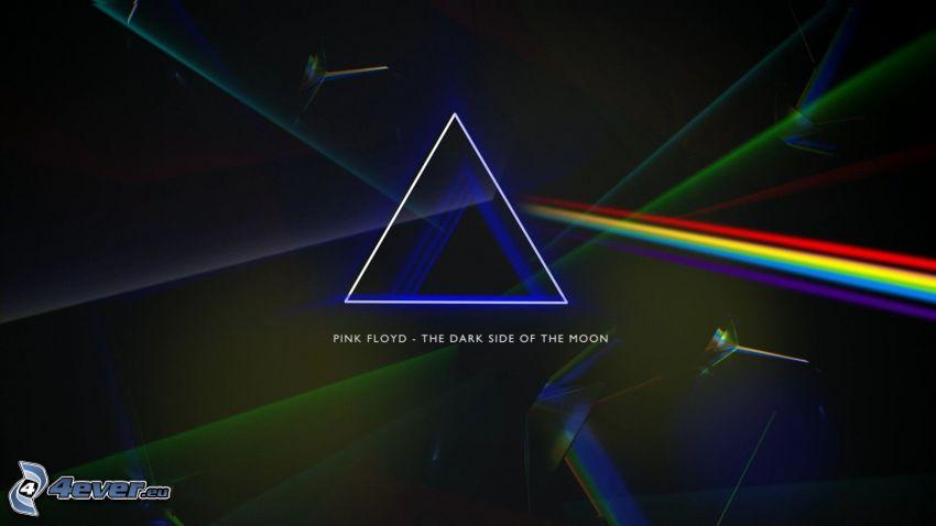 Pink Floyd, rifrazione della luce
