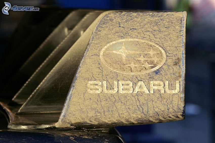Subaru, polvere