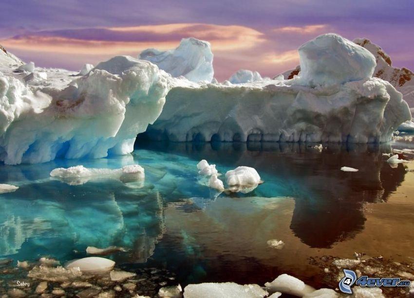 Artide, ghiaccio