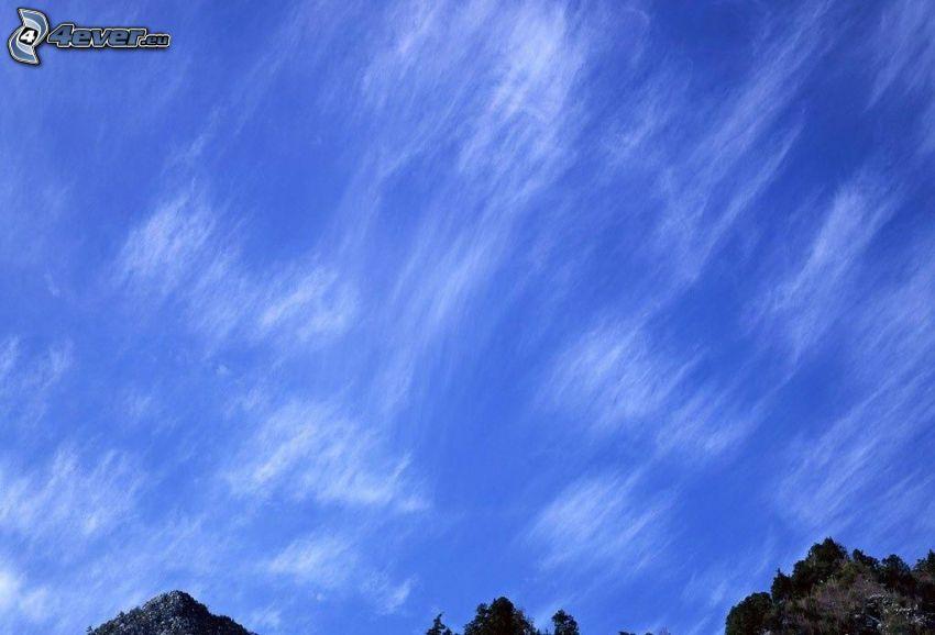 cielo, colline rocciose