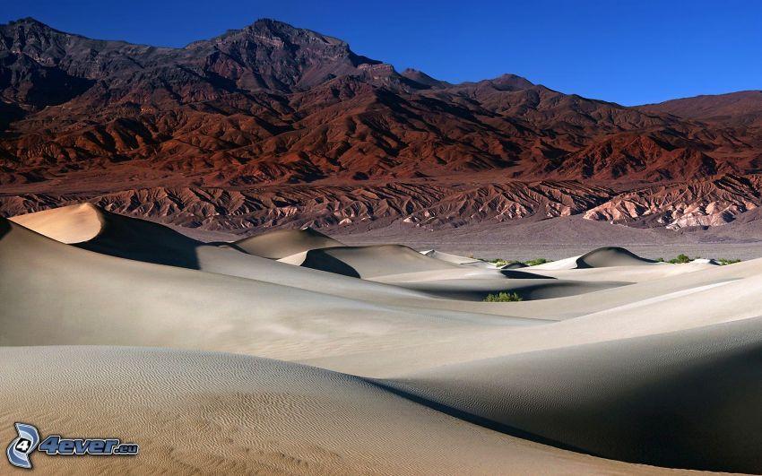 deserto, colline