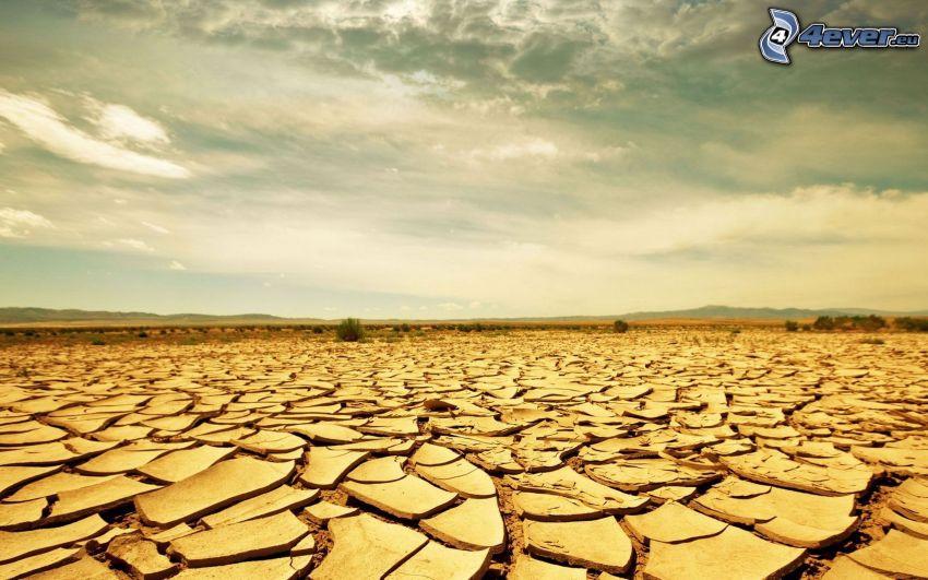 deserto, terra secca