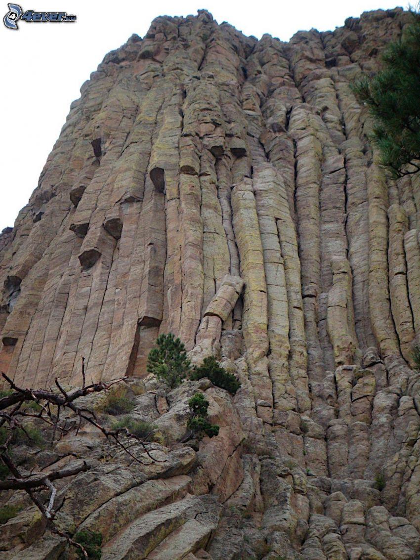 Devils Tower, roccia