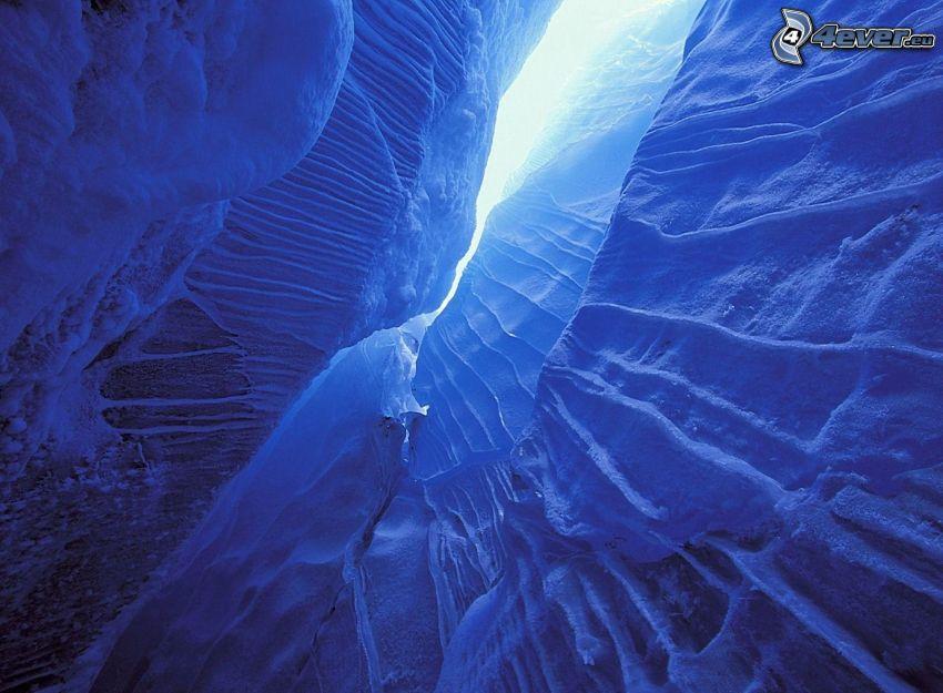 divario, Glacier National Park, Canada, neve, ghiaccio