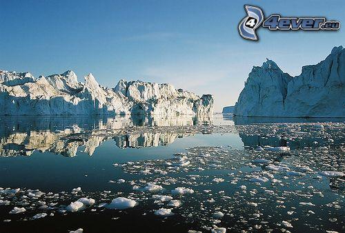 ghiaccio, scandinavia, Artide, Mar Glaciale Artico