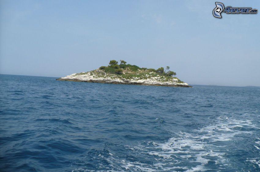 isola, mare, Croazia
