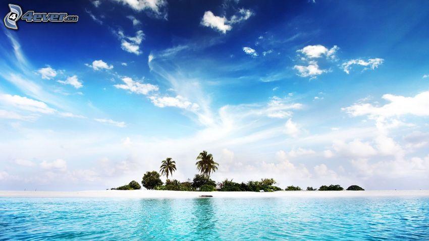 isola, mare