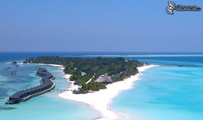 isola Kuredu, Maldive