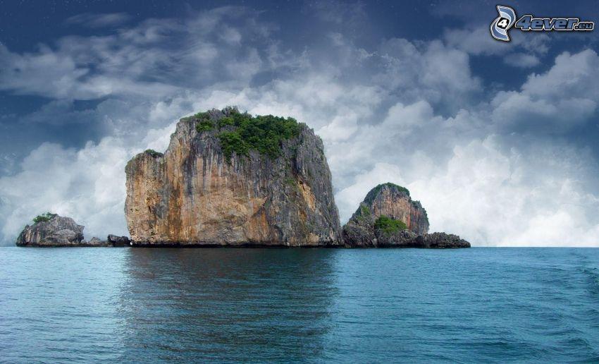 isola rocciosa