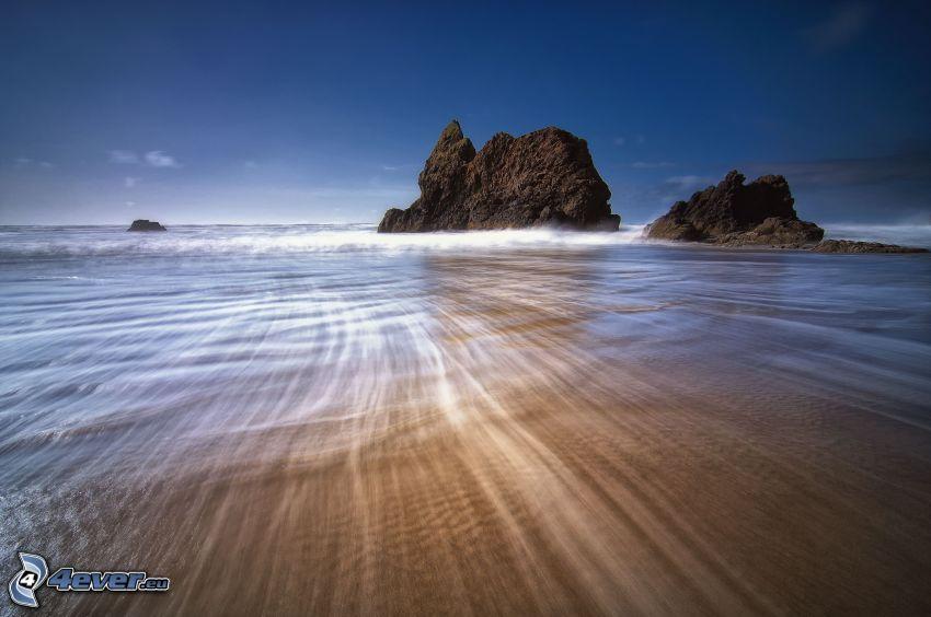 rocce, mare, spiaggia