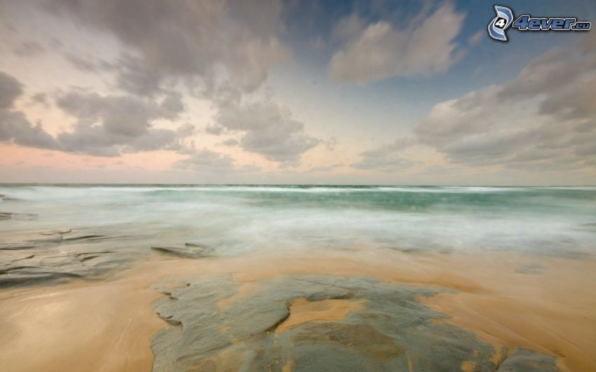spiaggia di rocce
